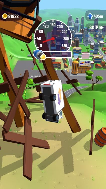 Crash Delivery: car jumping screenshot-3