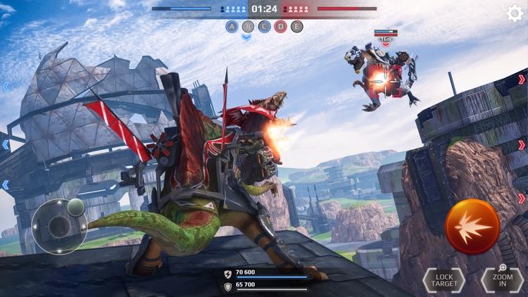 Jurassic Monster World 3D FPS screenshot-3