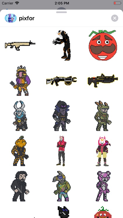 Pixel Stickers for Fortnite screenshot-3