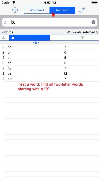 Dansk Words Finder Wordfeud screenshot-4
