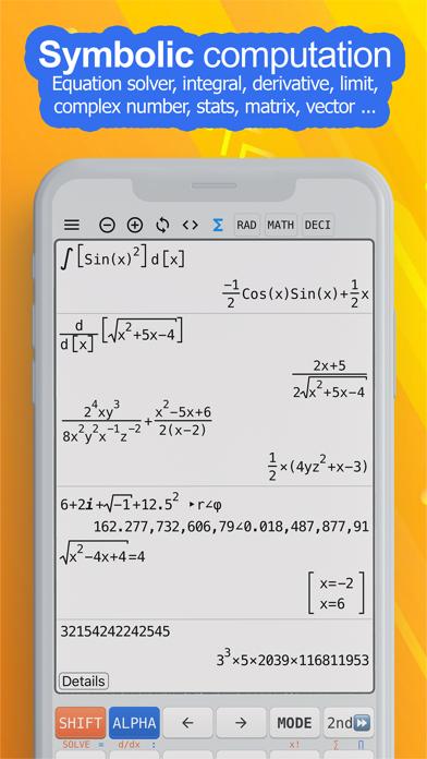 NCalc Taschenrechner PlusScreenshot von 3