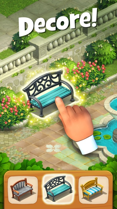 Screenshot for Gardenscapes in Portugal App Store