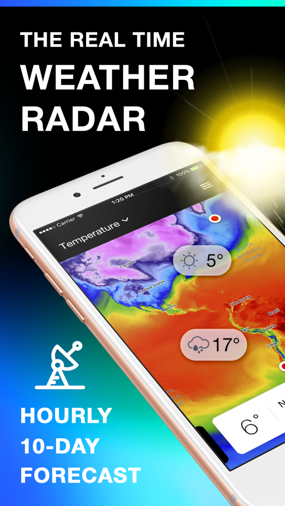 Weather Radar 24 App for iPhone - Free Download Weather Radar 24 for