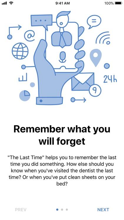 The Last Time - Days tracker screenshot-4