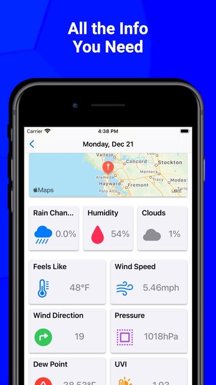 Weather - Forecasts screenshot-6