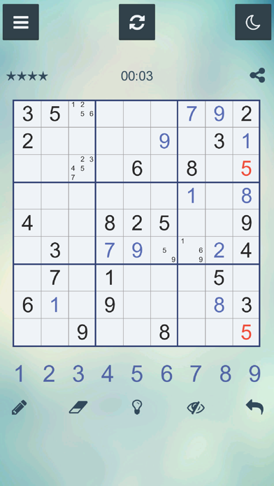 ™ SudokuCaptura de pantalla de3