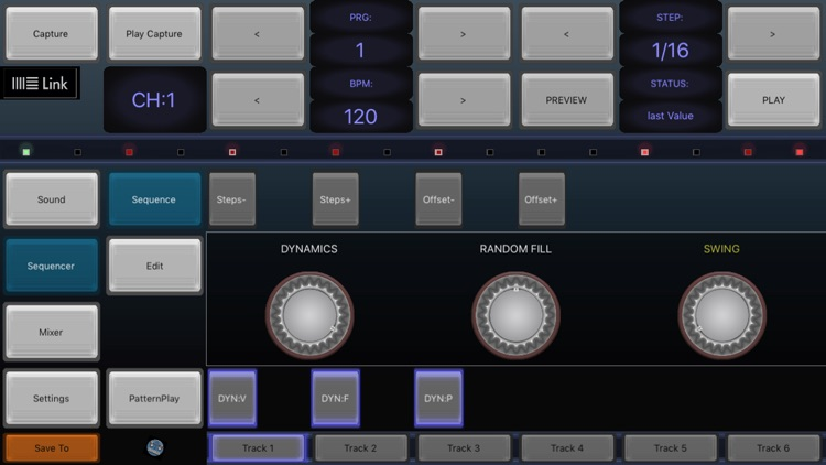 6X806 Noise Drum Machine EDM-D screenshot-3