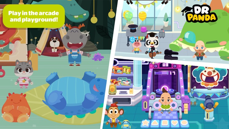 Dr. Panda Town: Mall screenshot-1