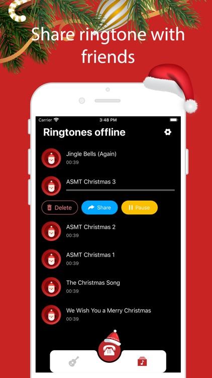 Santa Video Call & Ringtones screenshot-4