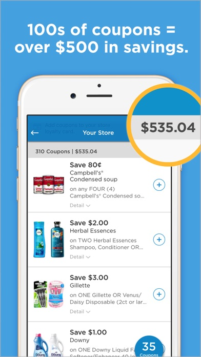 Screenshot for Coupons.com: Grocery coupons in United States App Store