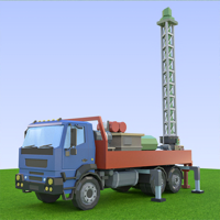Rollic Games - Oil Well Drilling artwork