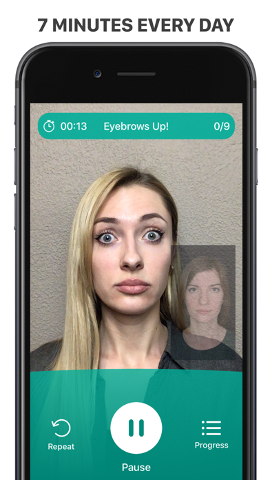 Facebuilding app: look younger Screenshot