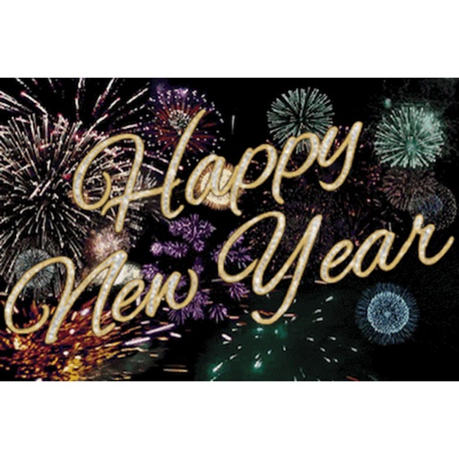 Animated Happy New Year Gif