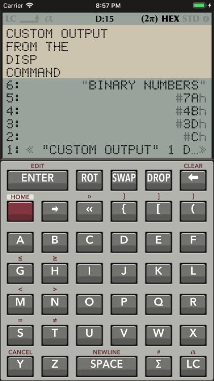 RPN 28x Calc screenshot-4
