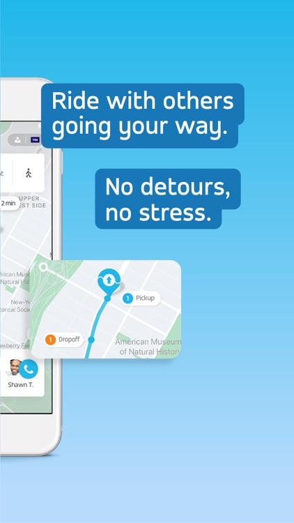 Via: Low-Cost Ride-Sharing screenshot-3