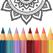秘密花园:涂色游戏画画绘本涂鸦