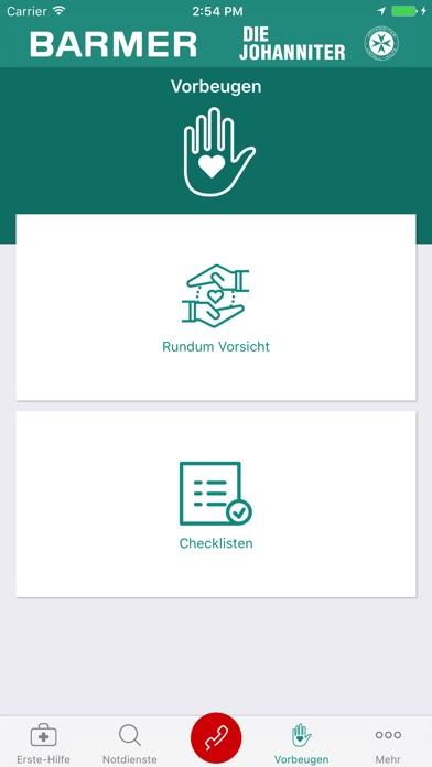 Screenshot for Kindernotfall-App in Germany App Store