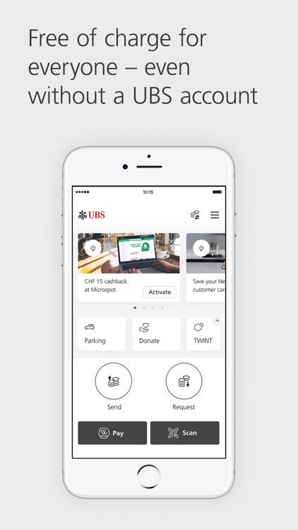 UBS TWINT: Swiss Payment App screenshot-0