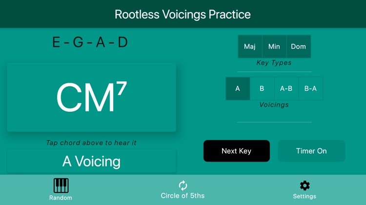 Rootless Voicings screenshot-6
