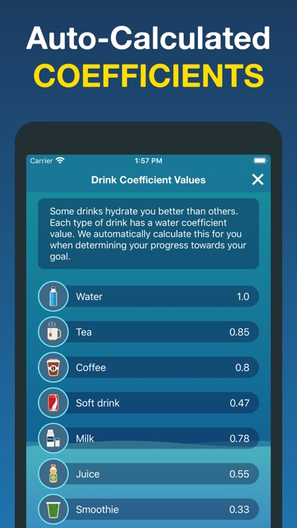 Hydro Coach | Hydration App screenshot-6