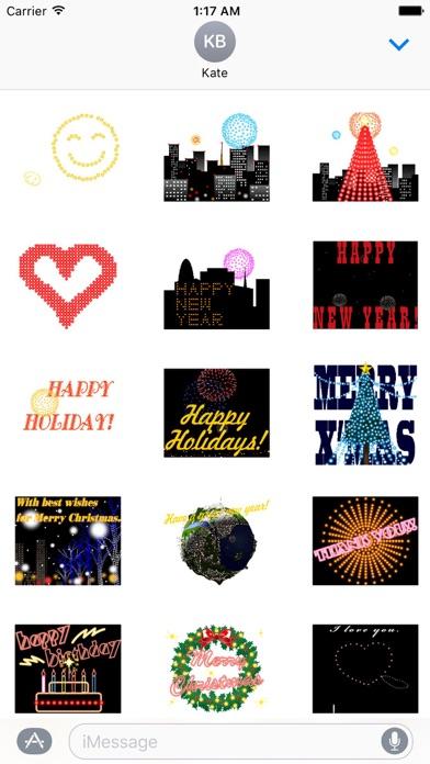 Animated Fireworks New Year screenshot 1
