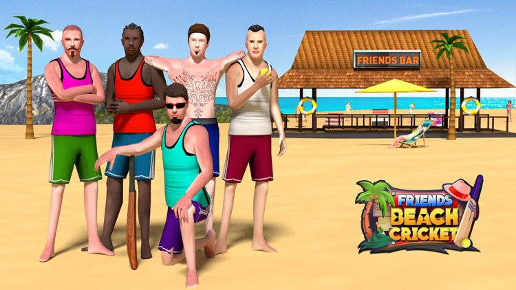 Friends Beach Cricket