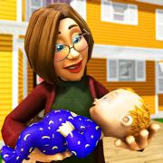 真实的 母亲 生活 模拟器 3D