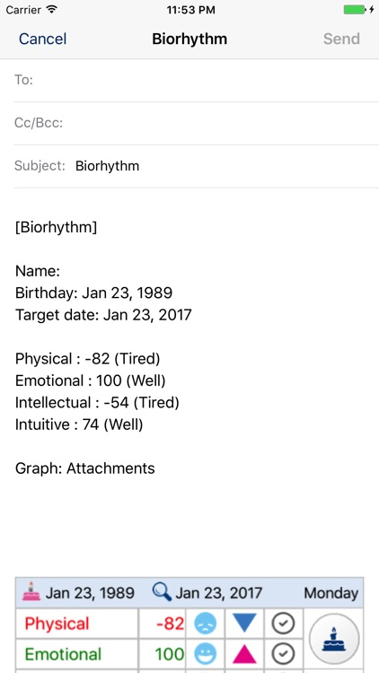BiorhythmΩ screenshot-8