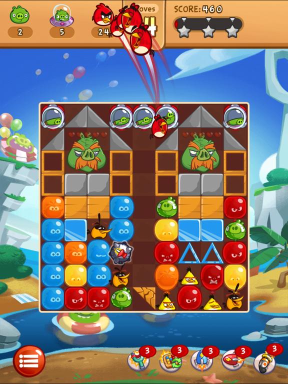 Angry Birds Blast для iPad