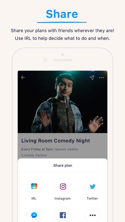 IRL - Event Social Network screenshot-8
