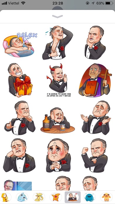 Business Style Funny Stickers screenshot 3
