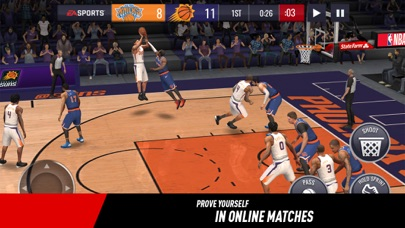 download NBA LIVE Mobile Basketball