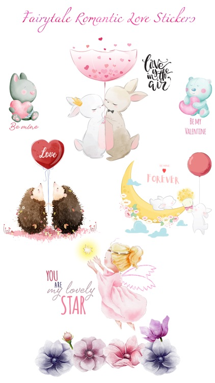 Fairytale Love Stickers