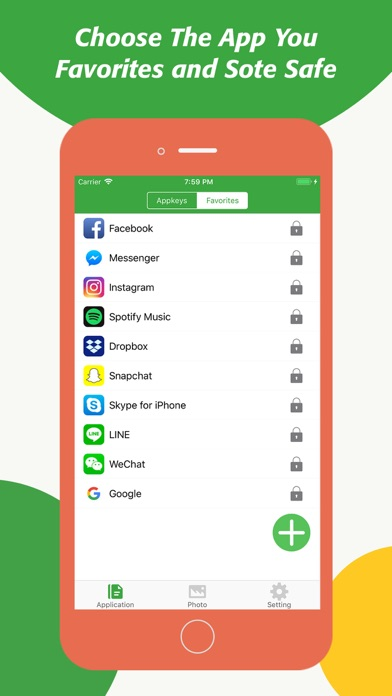 Screenshot for Lock App With Password Manager in Pakistan App Store