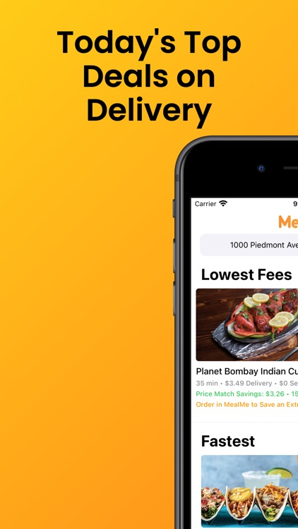 MealMe: The Cheapest Food App