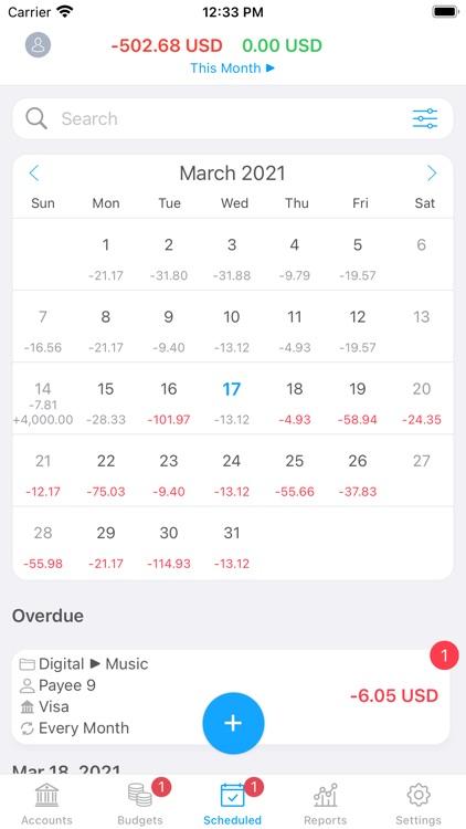 MoneyWiz 2021 Personal Finance screenshot-6