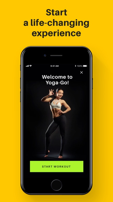 Screenshot for Yoga-Go: Weight Loss Workouts in Canada App Store