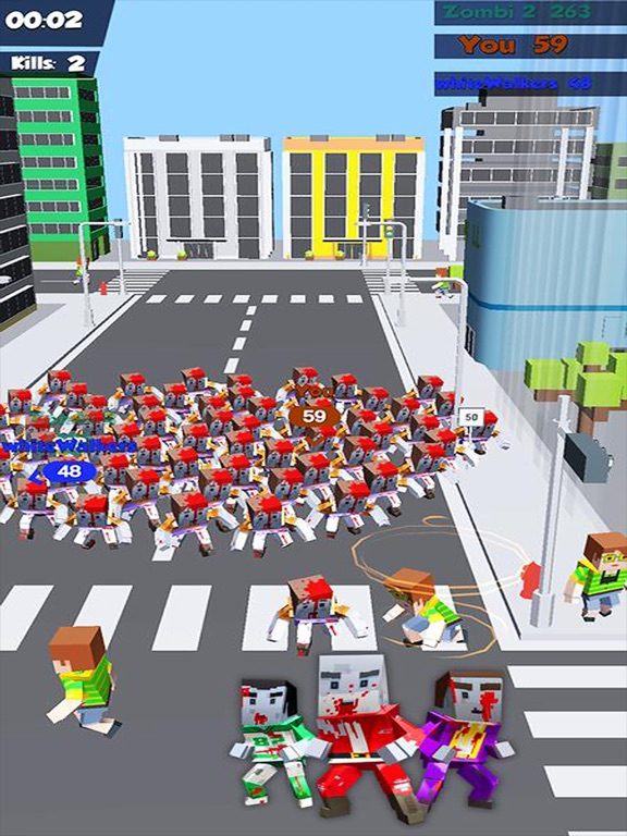 Zombies Crowd In City 2019 screenshot 6