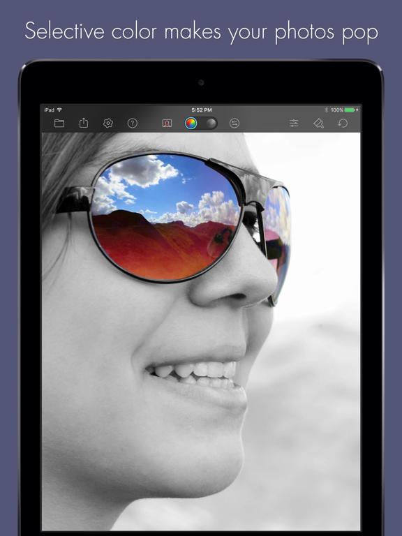 Color Splash for iPadのおすすめ画像1