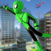 Stickman Spider -Rope Hero Sim free Resources hack