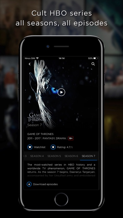 Screenshot for HBO Portugal in Portugal App Store