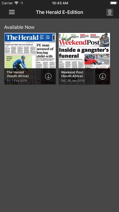 The Herald E-Edition screenshot two