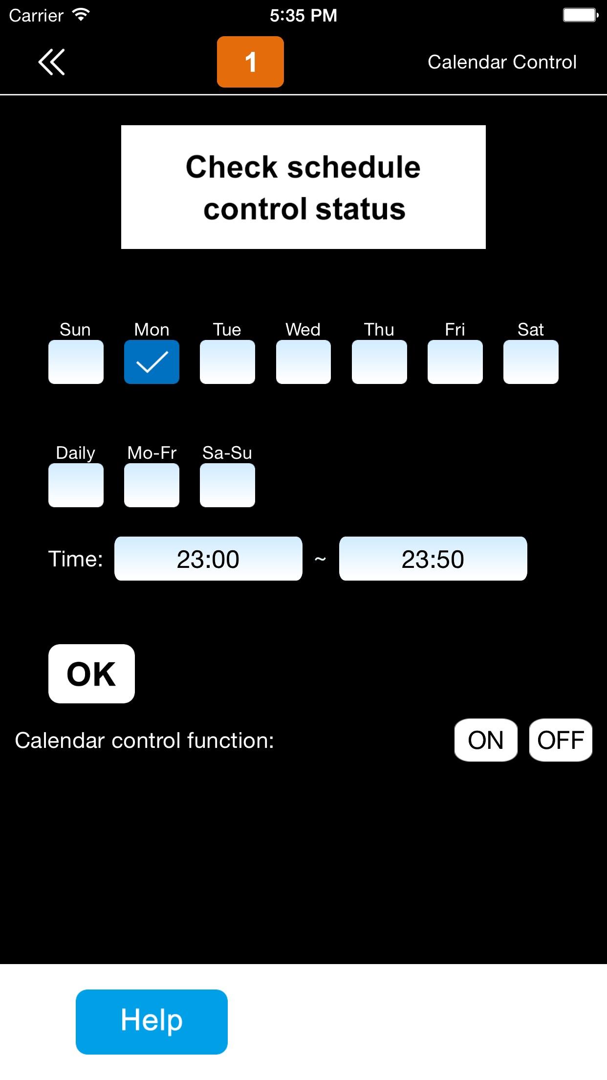 SimPal-T40 GSM Socket Screenshot