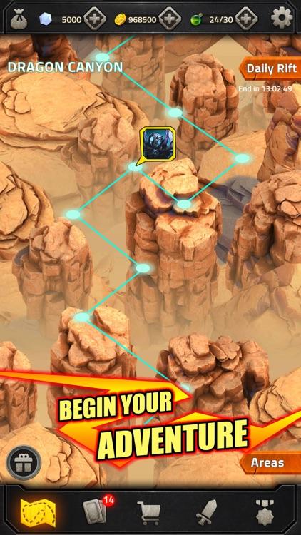 Match 3 RPG Heroes of Elements screenshot-4