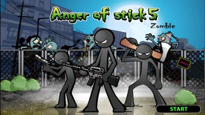 棒人間の怒り5:ゾンビのおすすめ画像1