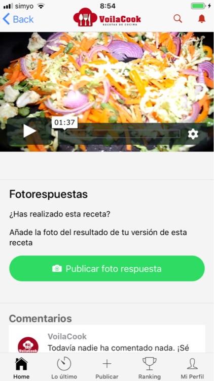 VoilaCook-Recetas de Cocina screenshot-7
