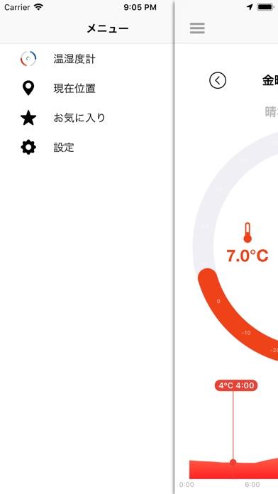 温湿度計 - THI ScreenShot2