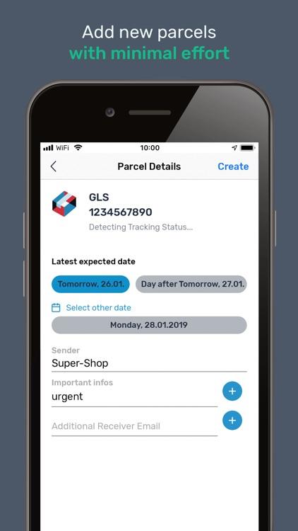 Packenda - Parcel Tracking screenshot-3
