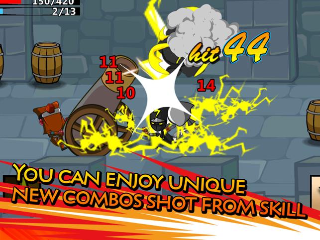 Ninjas - STOLEN SCROLLS Screenshot
