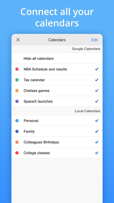 Calendars by Readdle Screenshot